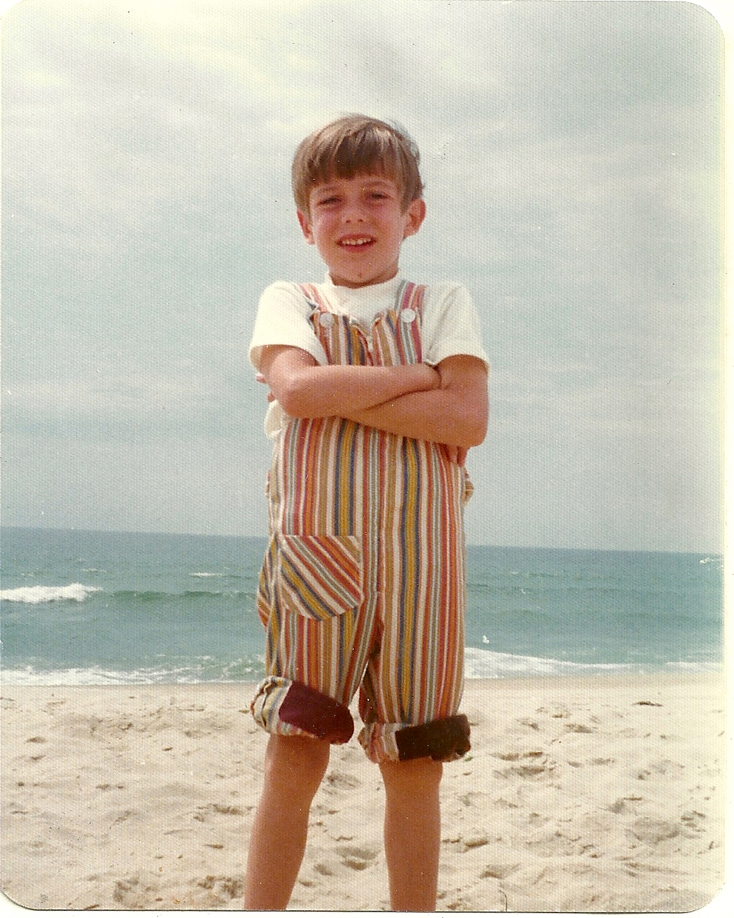 1973 i m wearing coveralls because i m still in diapers at age 7