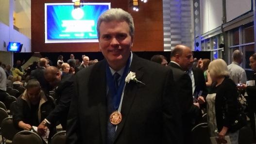 Thomas Exler at the 2015 Jefferson Awards