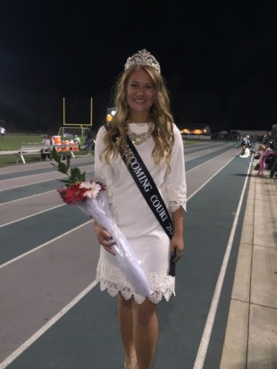 Kylee Hunter Homecoming Queen