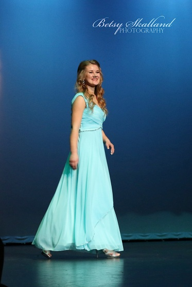 Kylee Hunter as Miss Outstanding Teen